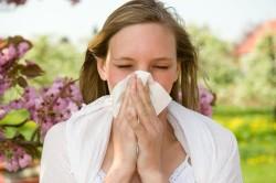 Аллергия - причина першения в горле