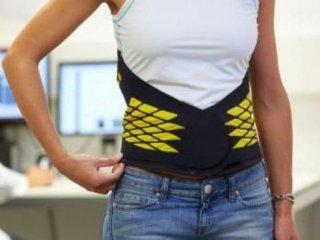 Корсет разгружает мышцы спины