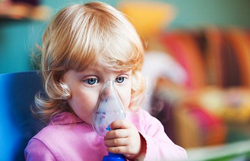 Один из методов облегчения симптомов астмы - ингаляция