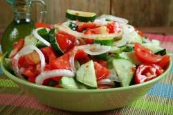 Салат с подсолнечным маслом при запорах