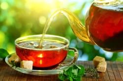 Травяной чай при ангине