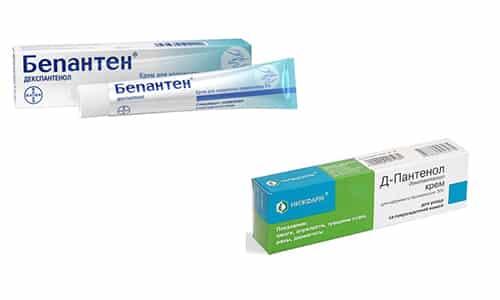 Д-Пантенол или Бепантен назначают для стимуляции регенерации кожного покрова