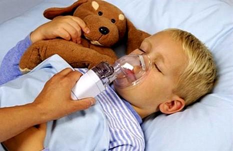 Физиотерапия у ребенка-астматика