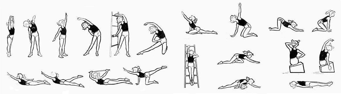 Упражнения для вытяжки позвоночника