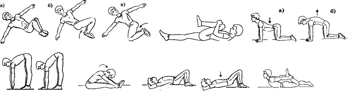 Упражнения для поясничного отдела позвоночника