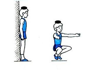 Упражнение для правильной осанки