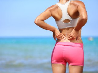 Боль в пораженном участке - симптом грыжи