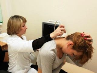 Аппаратная диагностика шейного отдела