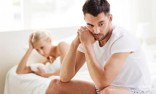Половое бессилие у мужчины часто развивается в результате нарушения кровообращения