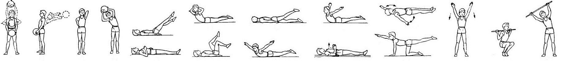 Комплекс простых упражнений для исправления осанки