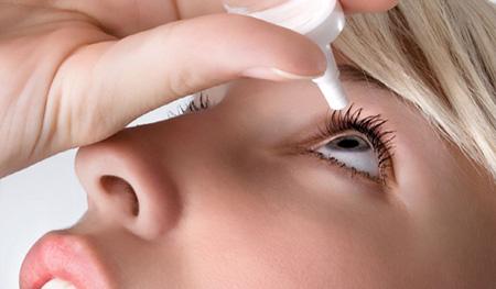 Использование глазных капель