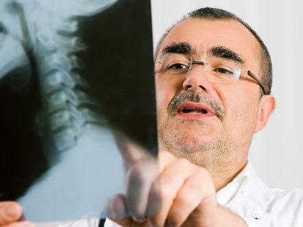 Рентегенодиагностика шейного кифоза