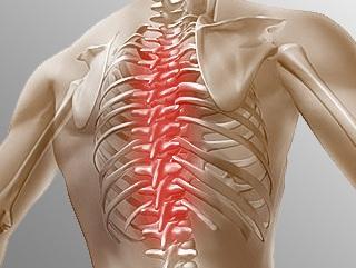 Болезни позвоночника тоже отзываются болью в груди