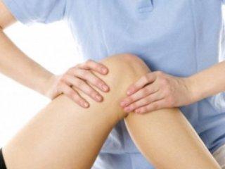 Массаж коленного сустава - часть физиотерапии