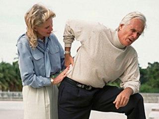 Прострел - симптом поясничного остеохондроза