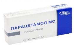 Парацетамол для снижения температуры тела
