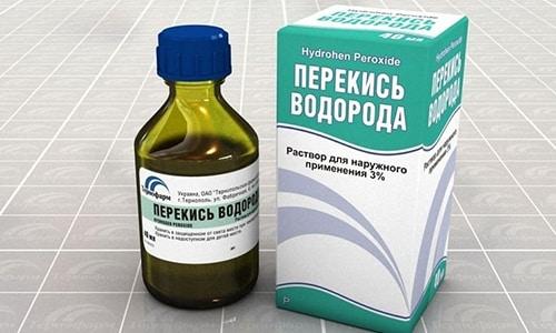 При лечении простатита терапевтическую схему дополняют перекисью водорода