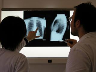 диагностика перелома груди