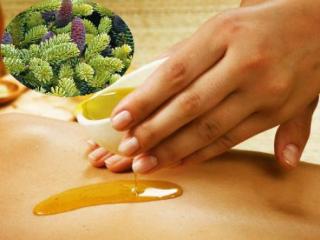 Очень полезен массаж с пихтовым маслом