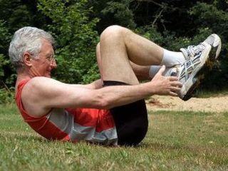 ЛФК укрепляет мышечный корсет