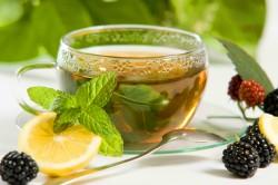 Польза чая при ангине