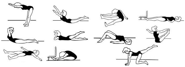 Упражнения для профилактики нарушений осанки