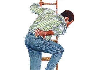 Проблемы с позвоночником проявляются болью