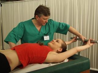 Вытяжение - один из методов лечения протрузии