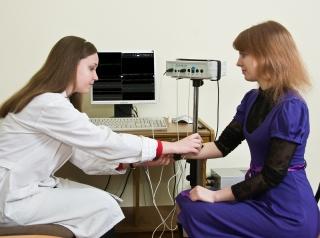 Диагностика с помощью электромиографии
