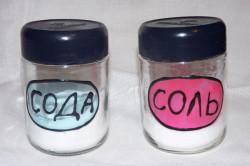 Соль и сода для лечения гнойной ангины