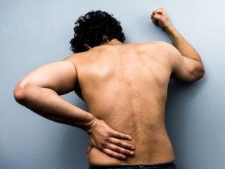 Спондилит проявляется сильной болью