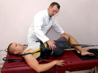 Вытяжка - один из методов лечения спондилолистеза