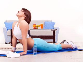 укрепление мышц спины и живота