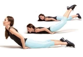 ЛФК помогает уменьшить впадину и укрепить мышцы груди